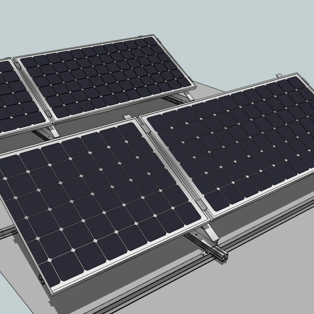 Alkorsolar with solar panels
