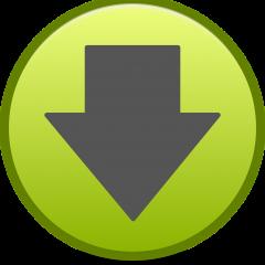Letöltés ikon